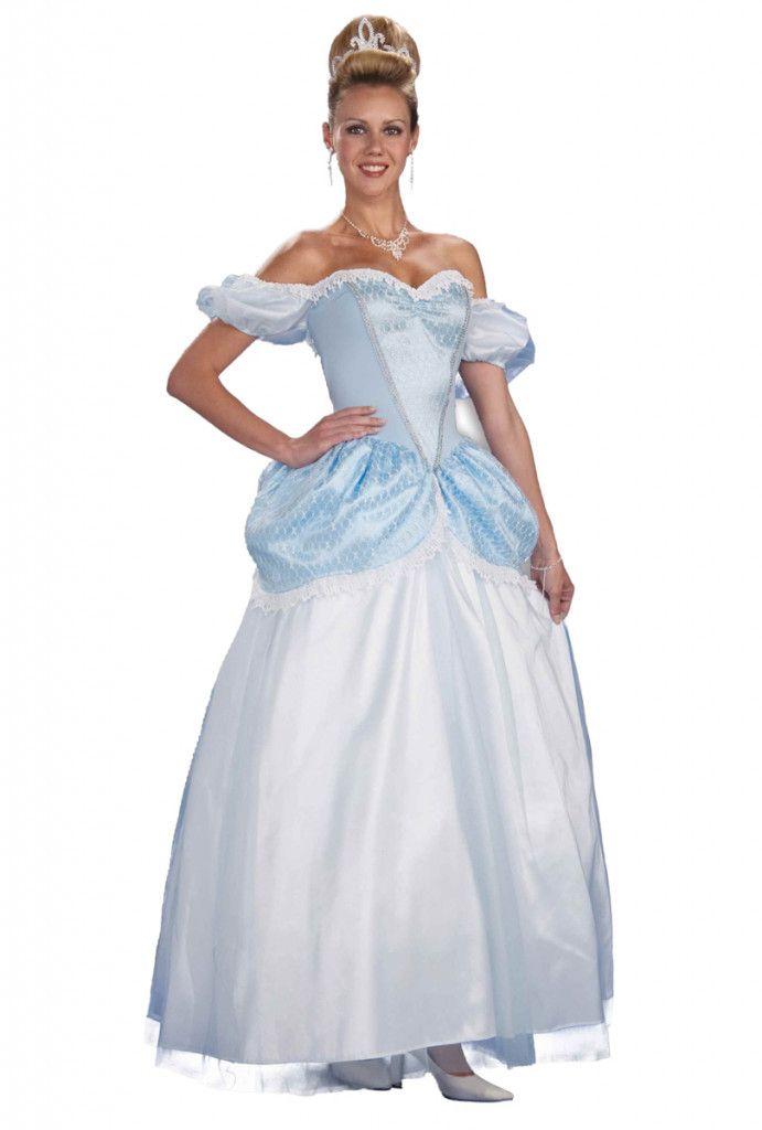 askungen klänning vuxen