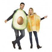 Avokado & Toast Maskeraddräkter - One size