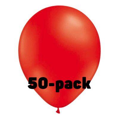 Ballonger Röda - 100-pack