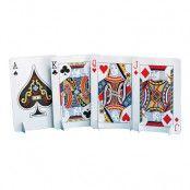 Bordsdekoration Spelkort - 4-pack