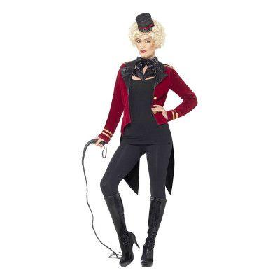 Kvinnlig Cirkusdirektör Maskeraddräkt - Small