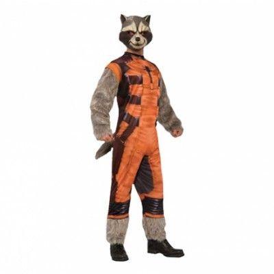 Rocket Raccoon Deluxe Maskeraddräkt