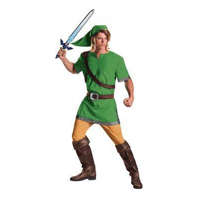 Zelda Link Deluxe Maskeraddräkt - Medium