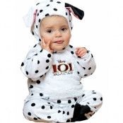 Disney Licensierad 101 Dalmatiner Fläcken Lyx Babykostym