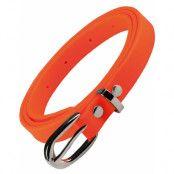 Neon Orange 80-Tals Bälte 100 cm