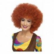 60-tals Rödbrun Afroperuk