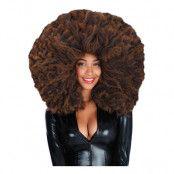 Afroperuk Gigantisk Brun - One size