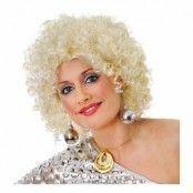 Blonde/Silver Glitter Afroperuk