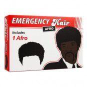 Nödfallsperuk Afro