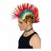 80-tals Mohawk Peruk - One size