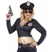 Fotorealistisk Polis T-shirt med Långa Ärmar