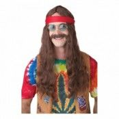 Hippie Man Perukset - One size