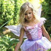 Fjärilsfeklänning barn maskeraddräkt