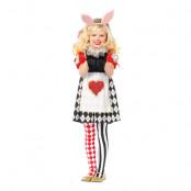 Kanin Wonderland Barn Deluxe Maskeraddräkt - X-Small