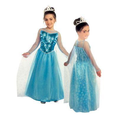 Prinsessklänning Barn Maskeraddräkt - Large