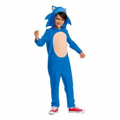 Sonic the Hedgehog Barn Maskeraddräkt - Small