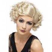 1920-talet Flapperperuk - Blond