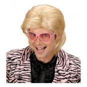 80-tals Casanova Blond Peruk - One size