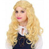 Blond Medeltida Peruk till Barn