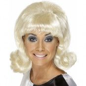Flick Up - Blond 60-Tals Peruk