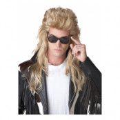 Hockeyfrilla Blond Peruk - One size