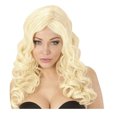 Rihanna Blond Deluxe Peruk - One size