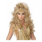 Seduction Blond Peruk - One size