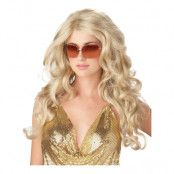 Supermodell Blond Peruk - One size
