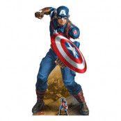 Avengers Captain America Kartongfigur