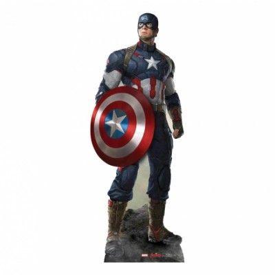 Avengers Captain America Kartongvägg