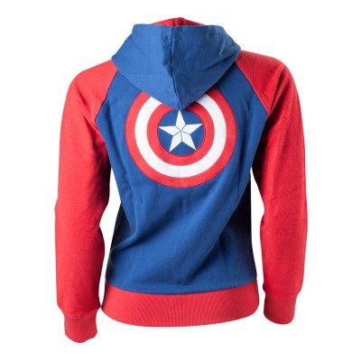 Captain America Dam Hoodie - Small