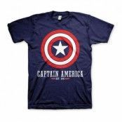 Captain America Logo T-shirt - Small
