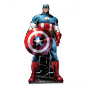 Captain America Mini Kartongfigur