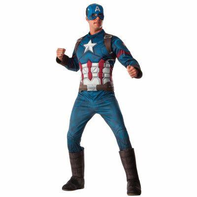 Dräkt  Captain America-M/L