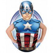 Licensierad Marvel Captain America Dräkt till Barn - Strl 3-6 ÅR