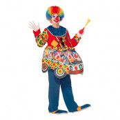 Clownbil Maskeraddräkt - One size