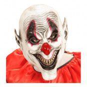 Läskig Smiley Clown Mask