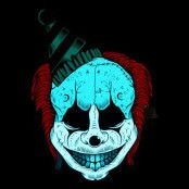 LED Mask Clown