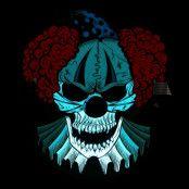 LED Mask Clown Döskalle