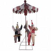 Prop animerad  karusell med clowner
