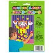 Clownskor RödGula One size Maskeradkläderbutiken