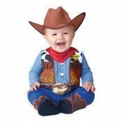 Cowboy Bebis Maskeraddräkt - Small