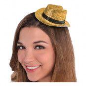 Cowboyhatt Mini Guld Glitter - One size