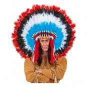 Indianskrud med Fjädrar - One size