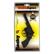 Knallpulverpistol Revolver Western - 19cm