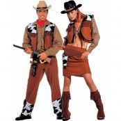 Parkostym - Västerns Vilda Cowboy