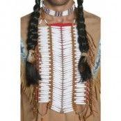 Vilda västern indian bröstplåt