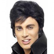 Licensierad Deluxe Elvis Peruk
