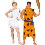 Parkostymer - Fred och Wilma Flintstones Inspirerade Kostymer
