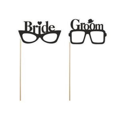 Fotoprops - Bride & Groom 2 st